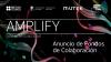 Flyer Amplify: fondos de colaboración