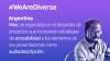 Banner We Are Diverse: Argentina. Crear presentaciones artísticas que sean incluyentes