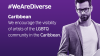 Banner We Are Diverse. Encourage the visibility of the LGBTQ community in the Caribbean