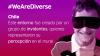 Banner We Are Diverse. Vivir la experiencia de un museo de Chile como una persona invidente