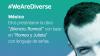 Banner We Are Diverse: México. Campaña Shakespeare Lives en el teatro con lenguaje de señas