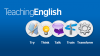 Banner TeachingEnglish - Try, think, talk, train and transform
