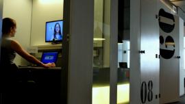 Una clase remota via videoconferencia