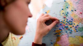 Imagen del mapa global de IELTS