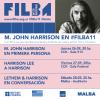 Poster del FILBA 2019 con foto de John Harrison