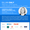 Banner Gillian Daly. Ambición y oportunidad: Cómo pensar las bibliotecas del futuro