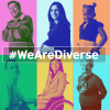 Collage #WeAreDiverse